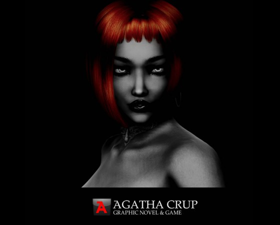 Agatha Crup graphic novel and game